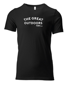 Picture of Great Outdoors Unisex Crew Tee (Black)