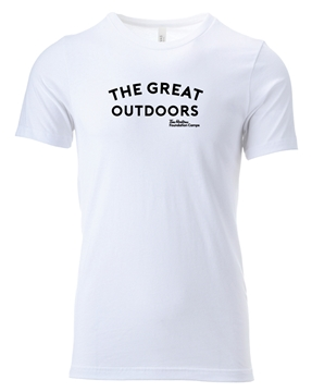 Picture of Great Outdoors Unisex Crew Tee (White)