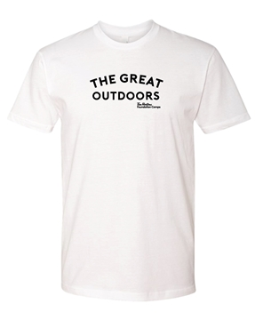 Picture of Great Outdoors Premium Unisex tee (White)