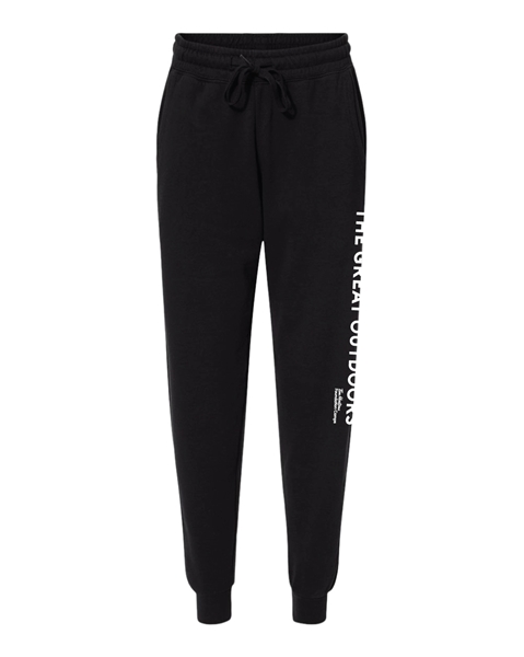 Picture of Great Outdoors Unisex Sweatpants (Black)