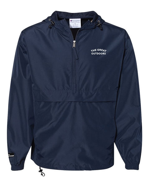 Picture of Great Outdoors Packable Quarter-Zip Jacket